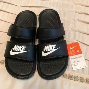 Nike Benassi Duo Slides!